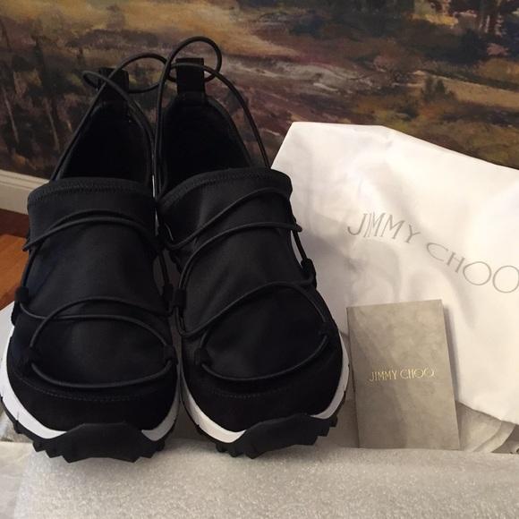 Bnwt Jimmy Choo Andrea Sneakers